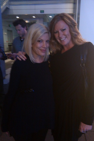 Tori Spelling and Susie