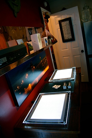 Drawing desk for artists