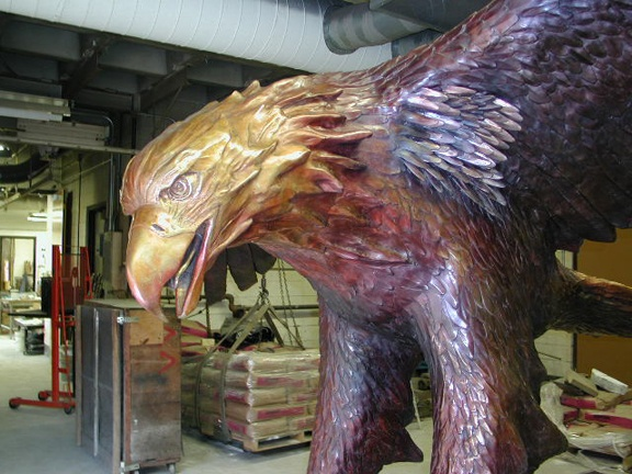 Eagle after patina #1
