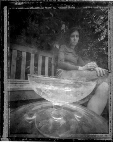 Self Portrait with Liqueur Glass