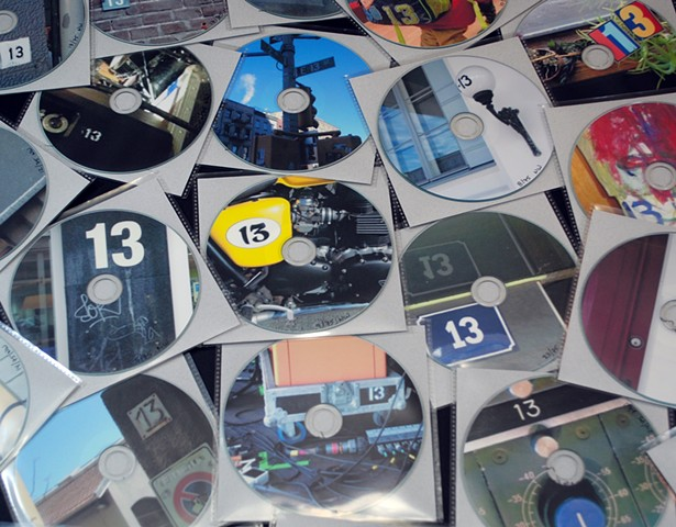 The limited edition '13' cds.