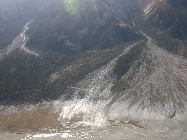 Tributary Alluvial Fan