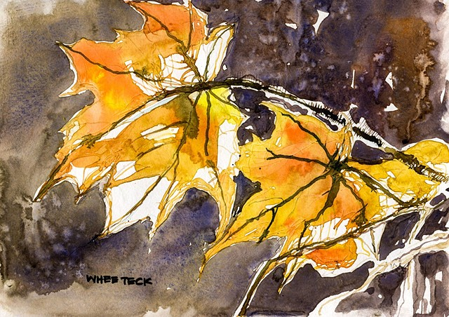 20161015a Canada Maple Leaves REF