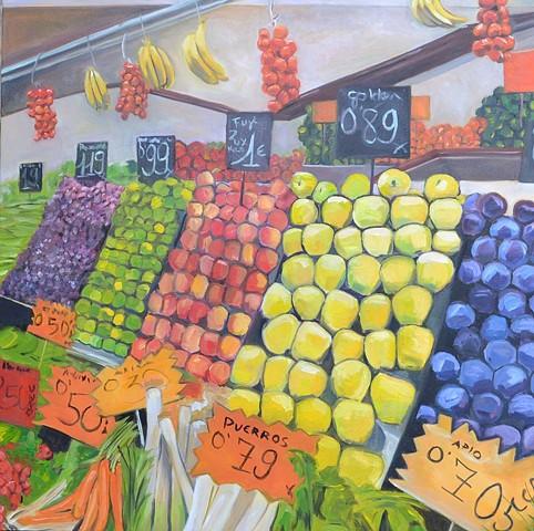 European Fruit Stand