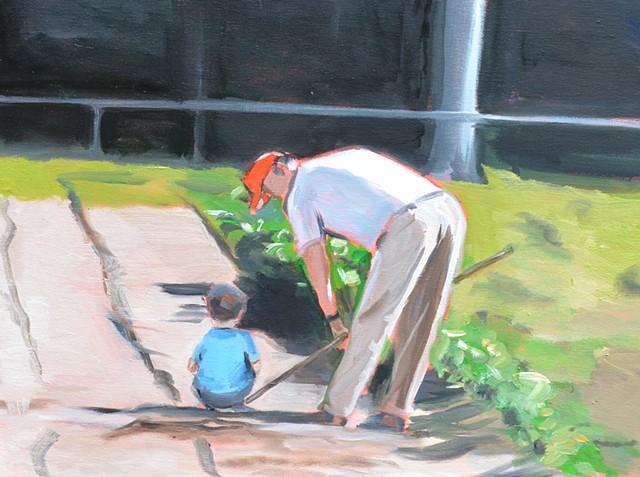 Gardening with Paw-Paw