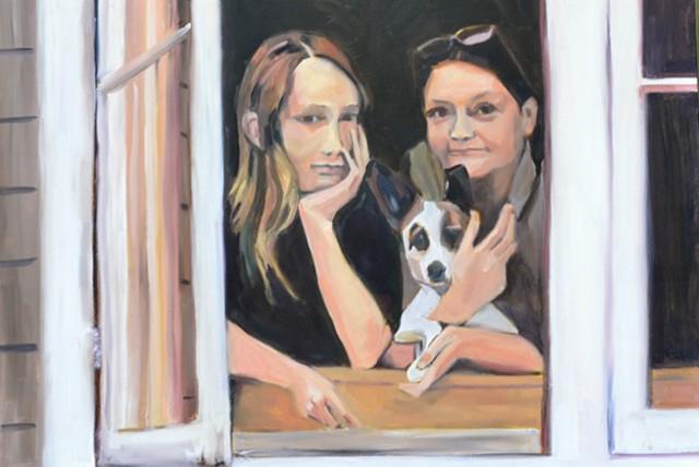 Cyndi, Jack, and Dog