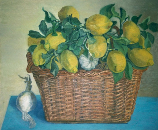 Lemons in Basket HL5