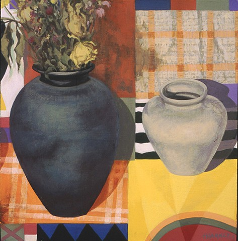 Still Life with Wong's Pot and Dead Flowers