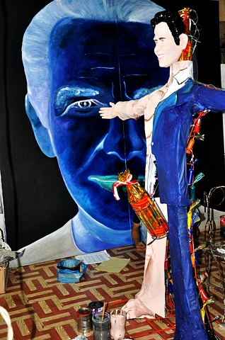 Jeff Koons 1.0 Painting and Effigy