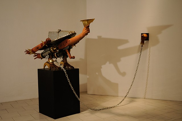 Toym Imao, Grounded at the Lopez Museum, drones