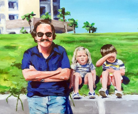 custom portraits, family portraits, painting