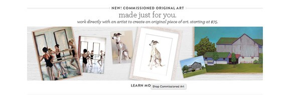 Minted Commission Artists