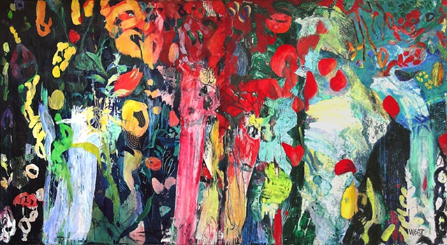 Persephone              diptych SOLD