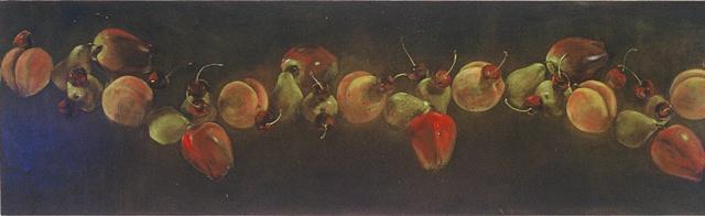 molecule protein plastic science oil paintingart ucsc molecular proteinmolecules that matter tang museum