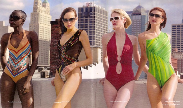Urban Times swim suit spread