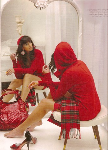 Red Riding hood Urban Times magazine