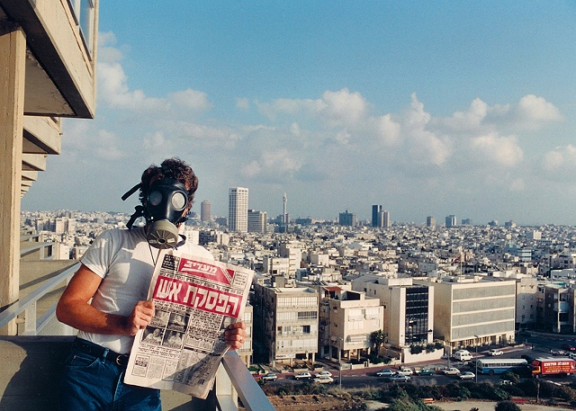 Self Portrait Tel Aviv, Israel Gulf War Cease Fire