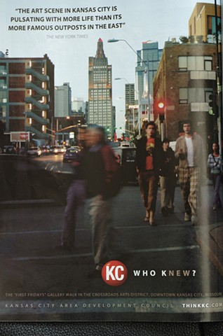 Visit KC promotional campaign for the downtown council of Kansas City, Missouri