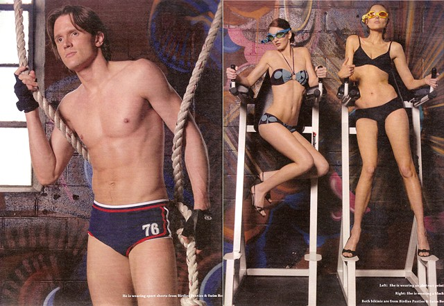 Urban Times swim suit shoot