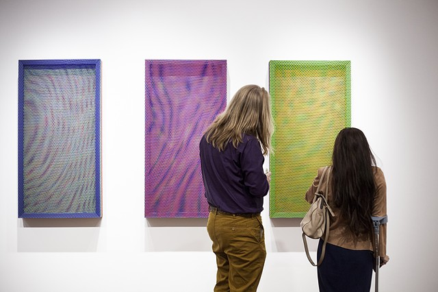 """Liquid Crystal + Polymer""  at Virginia Commonwealth University School of the Arts in Qatar"