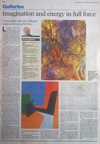 'Imagination & Energy in Full Force'   TJ McNamara - New Zealand Herald - Arts - Review of 'Noumena' - Orexart - 14/03/15 __________________________________