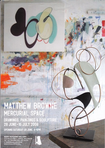 'Mercurial Space'   Matthew Browne - Artists Statement - June 2008 ______________________________
