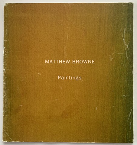 Matthew Browne - 'Painting'