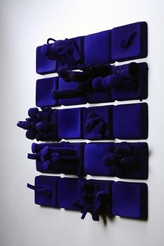 Klein Blue Collage