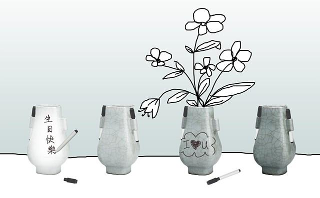 Wu Xing Studio Ears Vase Design Project, Taipei, Taiwan