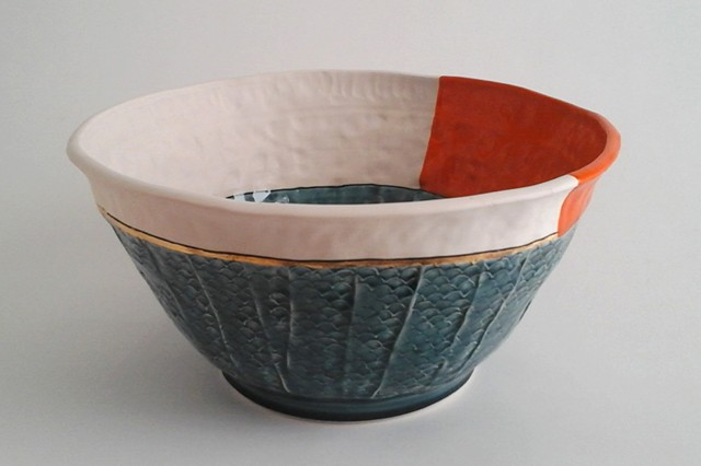 Large Bowl w/Orange #2