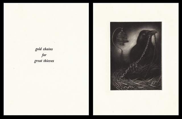 "plate six:   ""gold chains for great thieves""  2006"