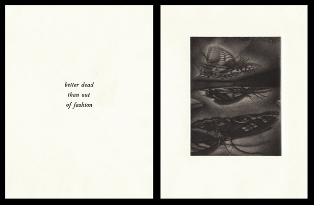 "plate three:  ""better dead than out of fashion""  2006"