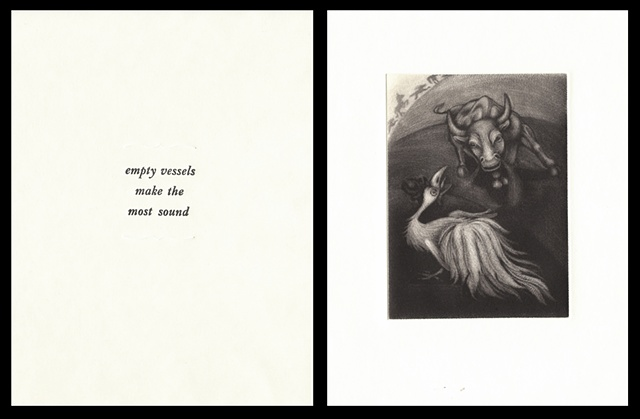 "plate eleven:  ""empty vessels make the most sound""  2006"