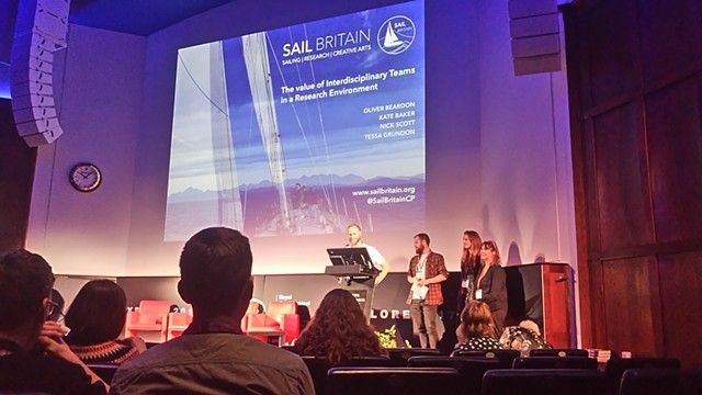 ROYAL GEOGRAPHICAL SOCIETY - presentation as part of SailBritain's Interdisciplinary Team
