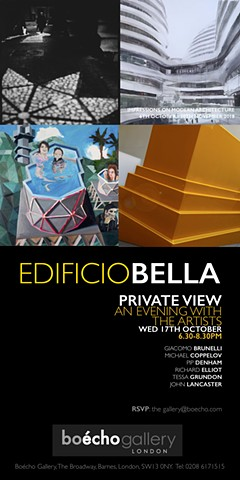 BOECHO GALLERY - Edificio Bella Exhibition, London, UK