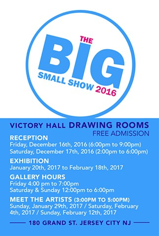 DRAWING ROOMS - THE BIG SMALL SHOW