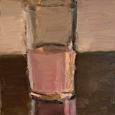 pink punch glass