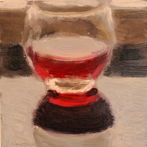red reflection