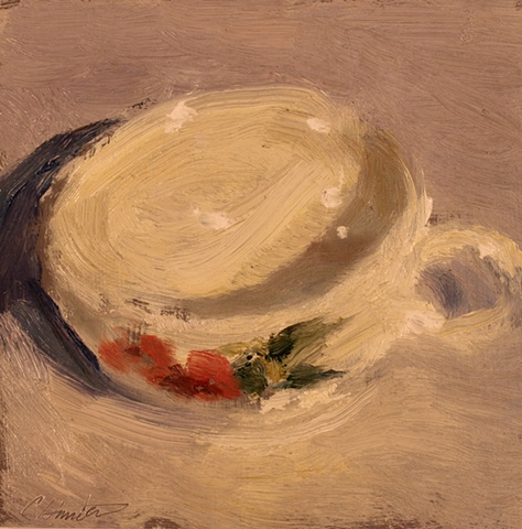 teacup with red