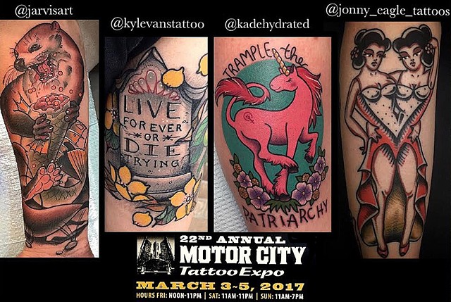 2017 Motor City Tattoo Expo