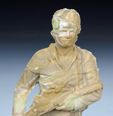 Sedimentary Figure No. 7 (detail)