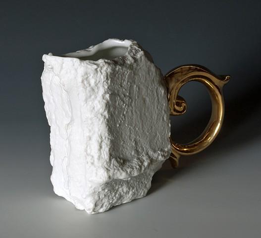 Solitary Cast Degraded Brick Mug