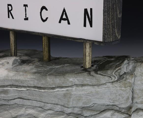 High Plains Postulations - White American Terrorism (detail)