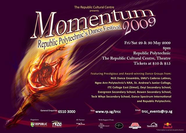 Momentum 2009 Poster