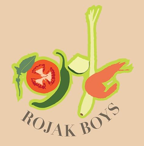 Rojak Boys Logo Design