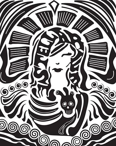 Stellarium Psychodelic Logo