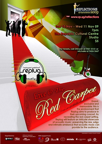 Reflections 2008 Live@Red Carpet Poster