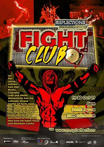 Reflections 2008 Fight Club Poster