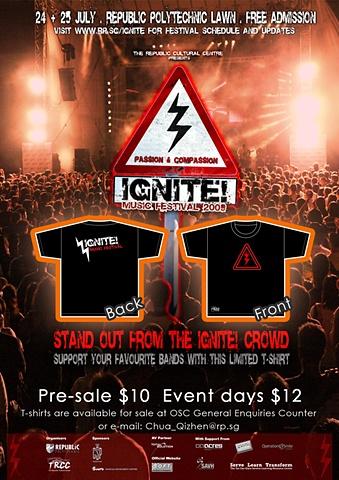 IGNITE! 2009 T-shirt EDM