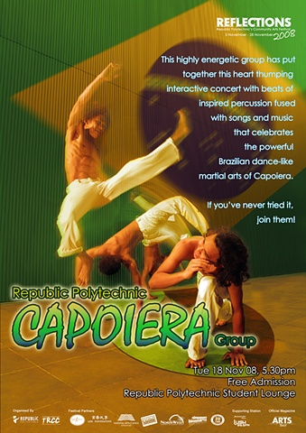 Reflections 2008 Capoeira Poster